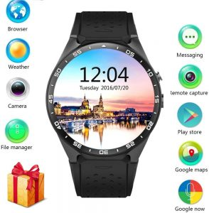 LEMFO KW88 Smart watch with SIM card